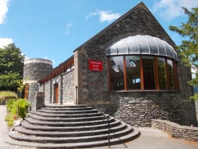 The Parish Centre came as a marvellous surprise.