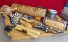 Collection of percussion.
