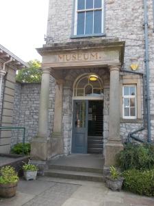 Kendal Museum entrance - 18.7.13
