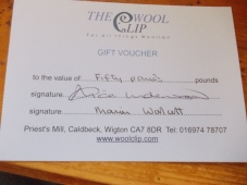 Wool Clip Voucher