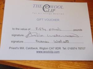 Wool Clip Voucher