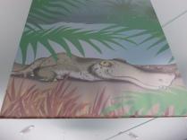 Hanging Crocodile