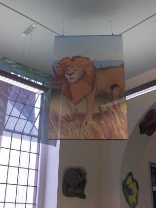 Hanging Lion