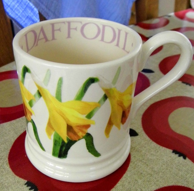 2016.03.27 - Daffodil mug